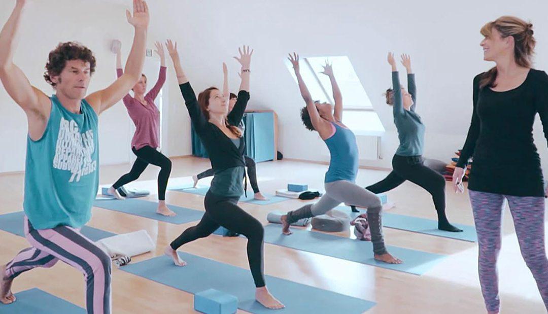 Aufbau einer Yogastunde