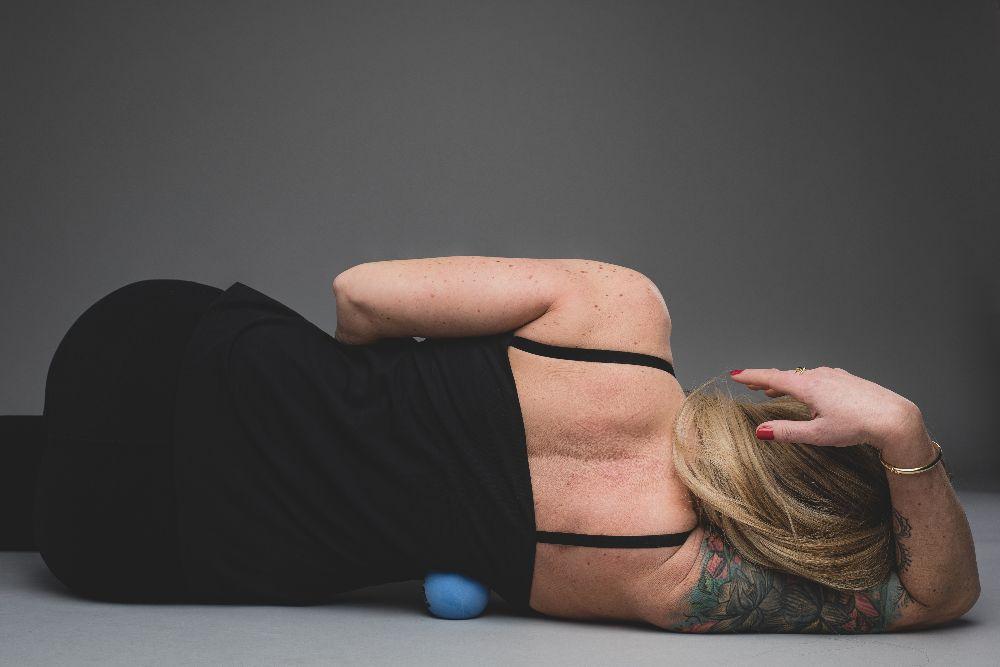 Entspannter Rücken